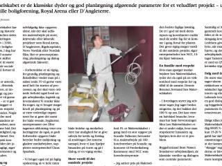 Bygge- Anlægsavisen: Artikel om Malerselskabet